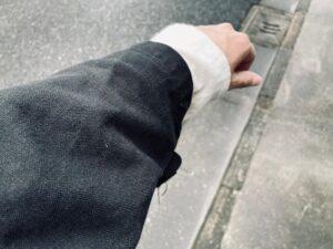 モータサイクルコート 袖丈
